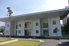 Stff在Ara Damansara清真寺扎营在雪兰莪,马来西亚 免版税库存照片