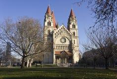 StFrancis von Assisi-Kirche und von seinem Park Stockfoto