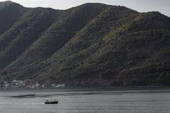 StGeorge海岛在黑山 免版税库存图片