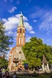 StGeorge ` s罗马天主教堂在索波特,波兰 库存照片