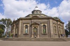 StGeorges大教堂在亚的斯亚贝巴,埃塞俄比亚 库存照片