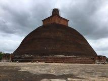 Sthupa Jethawanaramaya σε Anuradhapura Σρι Λάνκα στοκ εικόνα με δικαίωμα ελεύθερης χρήσης
