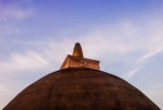 Sthupaya Jathawanarama στη Σρι Λάνκα Στοκ Φωτογραφίες