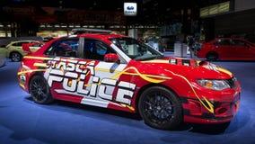 STI 2013 de Subaru Impreza de police d'Itasca photo libre de droits