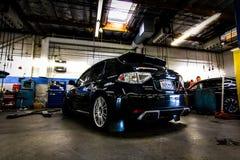 STI Subaru Стоковые Фотографии RF