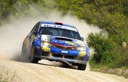 STI van Impreza van Subaru N14 verzamelingsAuto Stock Fotografie