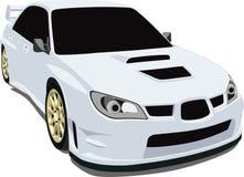 Sti van Subaru Stock Foto
