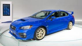 2014 STI van Subaru Impreza WRX Royalty-vrije Stock Afbeeldingen