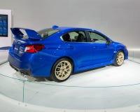 2014 STI van Subaru Impreza WRX Stock Afbeeldingen