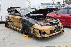 STi van Subaru Impreza WRX Sport Stock Foto's