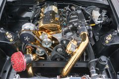 STi van Subaru Impreza WRX Sportmotor Stock Fotografie