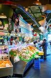 Stia al mercato di posto di luccio famoso a Seattle Fotografia Stock