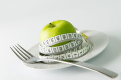 Stia il concetto a dieta Fotografia Stock Libera da Diritti