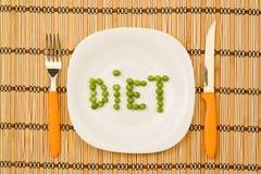 Stia il concetto a dieta Immagine Stock