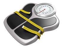 Stia il tempo a dieta Immagini Stock