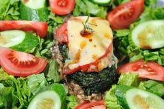 Stia l'insalata a dieta con il manzo Fotografia Stock