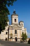 stiavnica κοινοτήτων εκκλησιών banska Στοκ εικόνες με δικαίωμα ελεύθερης χρήσης