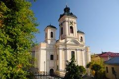 stiavnica κοινοτήτων εκκλησιών banska Στοκ Εικόνα