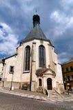 stiavnica του ST εκκλησιών της Catherine banska Στοκ Εικόνες