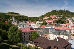 Stiavnica di Banska, Slovacchia - città dell'Unesco Immagine Stock Libera da Diritti