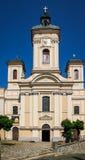 stiavnica st mary Словакии церков banska Стоковое Изображение RF