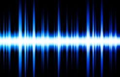 Stichhaltige Entzerrer-Rhythmus-Musik-Schläge Stockbild