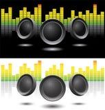 Stichhaltige Lautsprecher Lizenzfreie Stockbilder