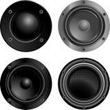 Stichhaltige Lautsprecher Lizenzfreie Stockfotografie