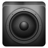 Stichhaltige Lautsprecherikone Lizenzfreies Stockfoto