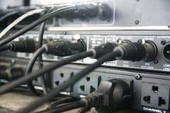 Stichhaltiger Audiomischer Stockfotos