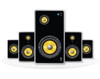 Stichhaltiger Lautsprecher Stockbild