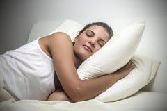 Stichhaltiges schlafendes Stockfoto