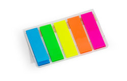 Stick it bookmark pads Royalty Free Stock Photo