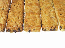Stick bread texture Stock Images