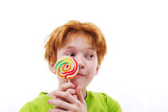 Stick of candy Stock Images