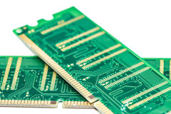 Stick of computer random access memory (RAM) Royalty Free Stock Photos