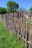 Stick fence Royalty Free Stock Images