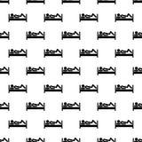 Stick man pattern seamless Royalty Free Stock Photography