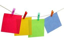 Stick note stock photo
