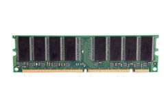 Stick of RAM Royalty Free Stock Image