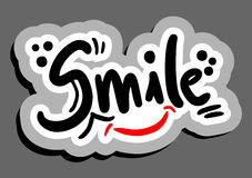 Stick smile Stock Photo