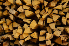Firewood. Stick texture firewood background Royalty Free Stock Photos