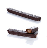 Stick wafer chocolate Royalty Free Stock Photo