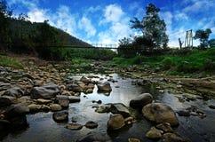 Stickande flod Royaltyfria Bilder