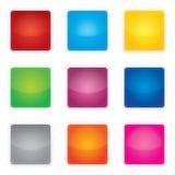 Sticke del espacio en blanco del vector del precio, de la promoción o del bestseller Fotos de archivo