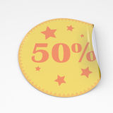 Sticker Royalty Free Stock Photo