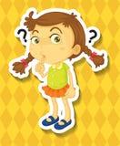 sticker Imagen de archivo libre de regalías