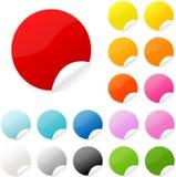 Sticker. Postit post-it sticker vector button Stock Photo