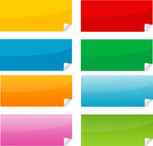 Sticker. Postit post-it sticker mail net vector Royalty Free Stock Photo