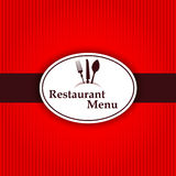 Sticker background restaurant menu kitchen label Royalty Free Stock Images